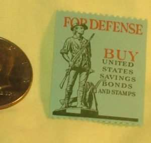 FOR DEFENSE BUY United States Savings Bonds and Stamps