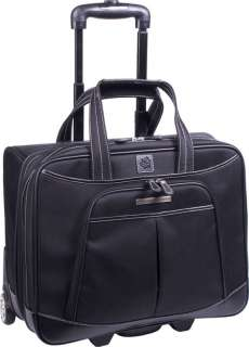 CLARK & MAYFIELD SELLWOOD ROLLING LAPTOP TOTE BAG