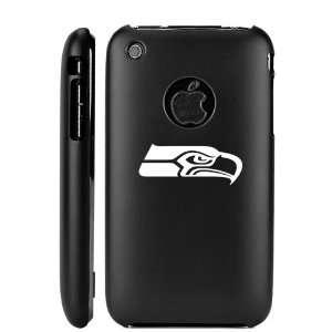 Apple iPhone 3G 3GS Black Aluminum Metal Case Seattle Seahawks