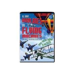 53603 TM books DVD All About Airplanes & Flying Machines Toys & Games