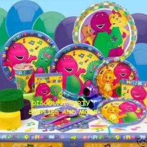Barney & Friends Birthday Party Pack Birthday Kit