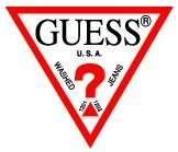 NEW Guess Logo Mens Black Trifold Leather Wallet