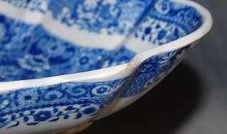 Spode Pearlware Pottery Net Pattern Transferware Bowl