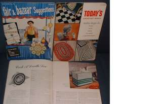 VINTAGE KNIT & CROCHET BOOKS gifts, novelties, doll clothes, doilies