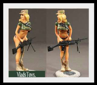 Vision Strike Ware Pin Up Girl Sculpture Army Ranger 2nd Battalion
