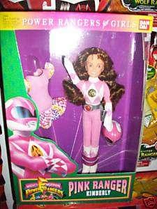 Power Rangers Doll Pink Ranger Kimberly MIB
