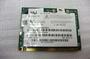 TOSHIBA QOSMIO G25 WIRELESS WIFI CARD G86C00018910