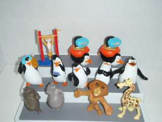 PENGUINS OF MADAGASCAR 4 TALKING MCDONALDS TOY FIGURE 12 toys #B