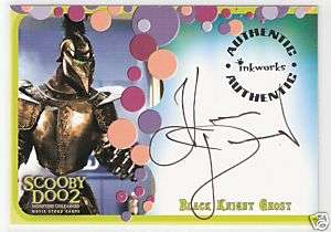 SCOOBY DOO 2   KEVIN DURAND as BLACK KNIGHT GHOST AUTO