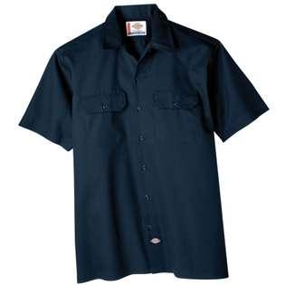 Dickie&s Dickies Extra Large Navy Mens Short Sleeve Work Shirt