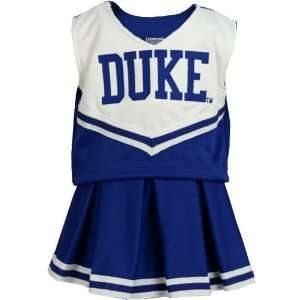 Blue Devils Royal Blue Infant Cheerleader Outfit: Sports & Outdoors