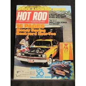 Hot Rod Magazine, May 1977 Hot Rod Magazine Books