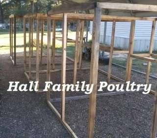 Backyard Coop Plans .. for turkey, chicken, duck, hatching eggs