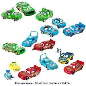 Pixar Cars Racing Vehicle 3 Packs Wave 1 Case Toys & Games