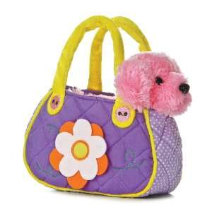 Aurora Plush 6 FancyPal Purple Pop Dog Pet Carrier: Toys & Games
