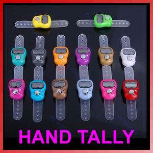 Mini 5 Digit LCD Electronic Digital Golf Finger Hand Held Tally