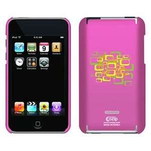 Retrosquared Hot Pink on iPod Touch 2G 3G CoZip Case