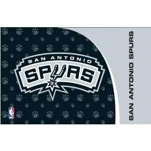 San Antonio Spurs NBA Logo Durable Pet Mat Placemat