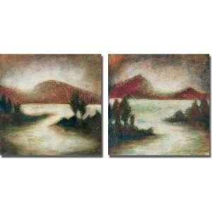 Ocean Light Canvas Art Set of 2 by Susan Osborne Home