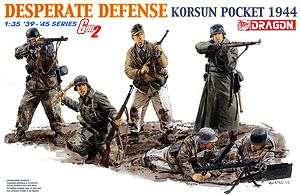 Dragon 1/35 6273 WWII German Desperate Defense Korsun Pocket 1944 (Gen