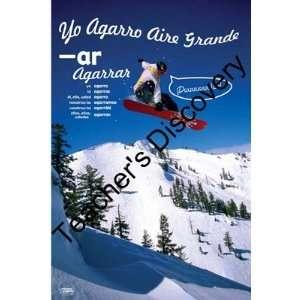 Snowboarder Ar Spanish Chart