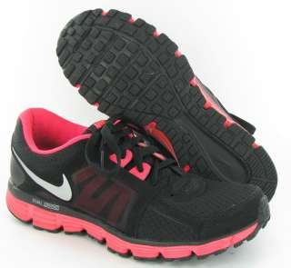 Nike Dual Fusion ST 2 Black/Pink Running Sneakers Womens 11M |