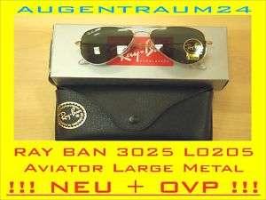 RAY BAN 3025 L0205 58/ Aviator Large Metal NEU+OVP