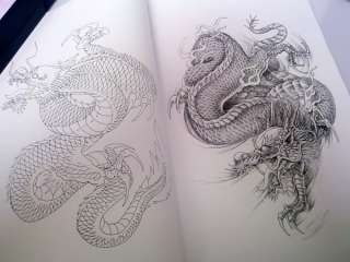 Rare Tattoo Flash Magazine China Art Buch Von Jinxiu 2