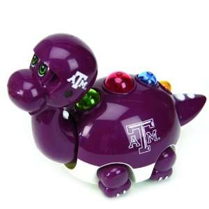 Texas A&M Aggies Musical Animated Dinosaur Toys 6 Home & Kitchen