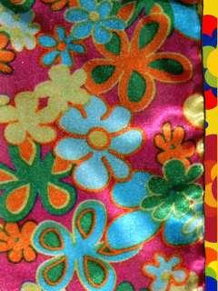 Prilblumen 60er 70er Jahre Hippie Flower Power Haarband / Schal