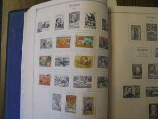 Stamps Scott International Volume 7 Russia   Sweden 1840   1973