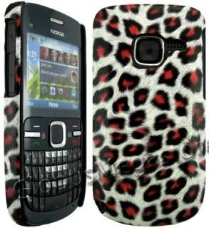 pouch for nokia c3 our price 8 08 pink leopard back case cover skin