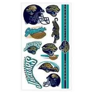 Jaguars NFL Football Team Temporary Tattoos