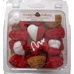 Honeys Bakery Valentines Day Dog Treat Gift Box  Kitchen