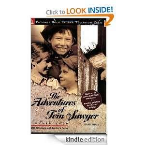 The Adventures of Tom Sawyer   Literary Touchstone Edition Mark Twain