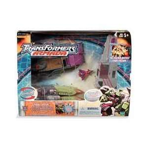 Transformers Armada Tidal Wave with Ramjet Mini con