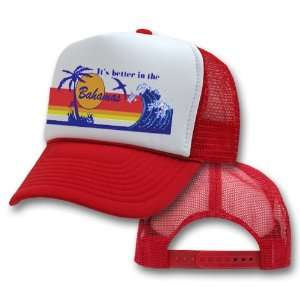in the Bahamas Mesh Trucker Hat Cap Vintage Style