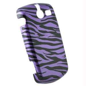 Purple / Black Zebra Snap On Cover for Cal Comp TXTM8 3G
