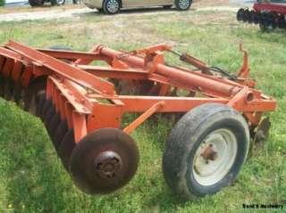 Burch 8 Wheel Disc Plow/Cultivator