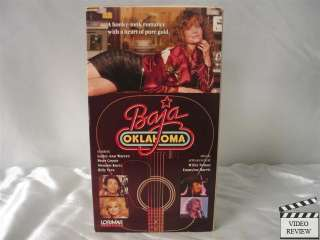 Baja Oklahoma VHS Lesley Ann Warren, Peter Coyote