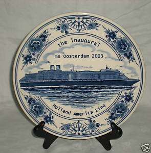 The Inaugural MS OOSTERDAM 2003 Holland America Line Cruise Ship