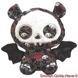 SKELANIMALS NEW 6 DIEGO BAT Skull Floral PLUSH SPRING