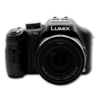 Panasonic DMC FZ150 (Black) 12.1MP 3.0 LCD Digital Camera DMC FZ150K