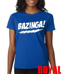 Big Bang Theory Ladies Tee Shirt Sheldon Cooper Funny TV Geek
