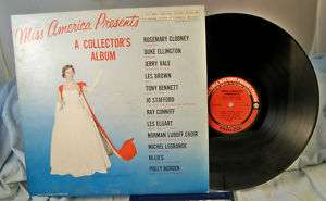 MISS AMERICA LP 1961 NANCY FLEMING CLOONEY ELLINGTON
