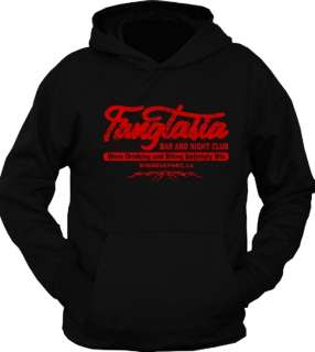 Fangtasia True Vampire Blood Bar Club Hoodie T Shirt