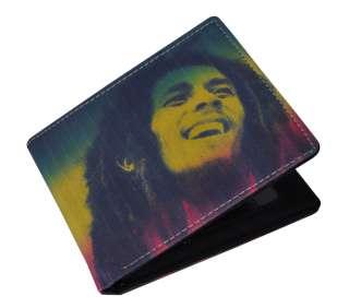 Bob Marley Reggae Jamaica Hip Hop Rap Mens Womens Wallet