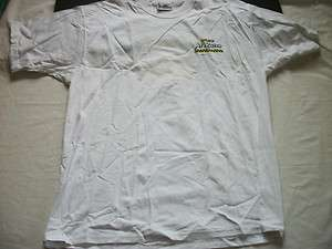 White ARIZONA ICE TEA Logo Tee Shirt Made in USA XL