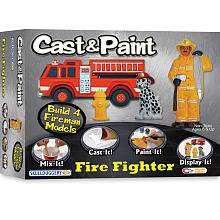 Cast & Paint Fire Fighter   Skullduggery 1001318   Model Kits