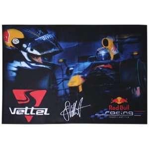 Neue Red Bull Racing Sebastian Vettel Flagge Formel 1 OVP